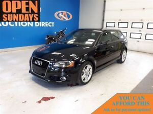 2012 Audi A3 QUOTTRO! ONLY 33621KM! SLINE! SUNROOF!