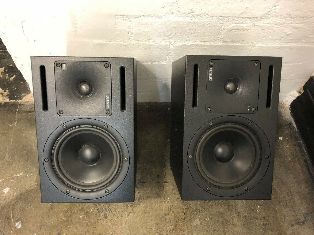 genelec 1030a bi amplified monitoring system powered active studio monitors in hackney london. Black Bedroom Furniture Sets. Home Design Ideas