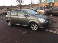 2006 TOYOTA COROLLA VERSO (7seater)- 2.0 DIESEL- 6 SPEED GEARBOX- COMES WITH FULL YEAR MOT