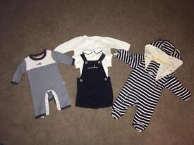 Baby boys M&S and John Lewis clothes