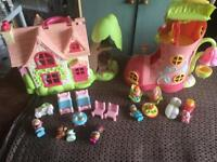 Happyland cherry lane cottage and bluebell boot