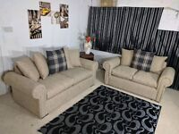 ***EXPRESS DELIVERY***BRAND NEW STYLISH RIO FLORAL (3+2) SOFA SET OR CORNER SOFA ON SPECIAL OFFER