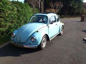 Vw beetle ragtop project tax exempt