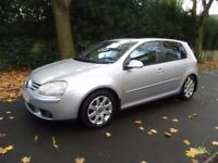 Volkswagen Golf 2.0 GT TDI, 5 door, Automatic, Silver, Sunroof, Rear parking aid