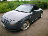 Audi TT Cabriolet 225BHP Nimbus Grey Soft Top Car