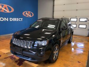 2014 Jeep Compass Sport/North 4X4/ SPORT! HEATED LEATHER/!