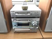Sony Mini Hi-Fi Component System DHC-MD373 Working with Speakers Spares or Repairs