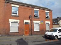 **LET BY**1 BEDROOM APARTMENT- EVANS STREET-BURSLEM -LOW RENT-DSS ACCEPTED-NO DEPOSIT