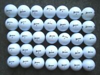 35 Srixon golf balls in excellent condition as new