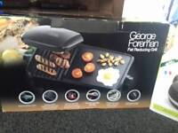 Brand new sealed George foreman 10 portion grill and griddle