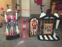 Monster High Circus Scareground With Frankiestein doll