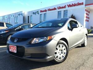 2012 Honda Civic LX | AUTO | 1.99% Financing available