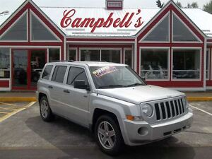 2008 Jeep Patriot SPORT/NORTH AUTOMATIC!! A/C!! CRUISE!! ALLOYS!