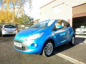 IMMACULATE 2009 FORD KA 1.2 ZETEC, FSH, NEW MOT, HUGE SPEC & 3 MONTHS WARRANTY