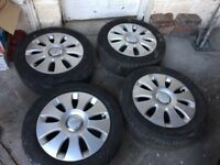 Audi-Alloys x4 -And-EXCELLENT-Tyres-16-Perfect-Condition