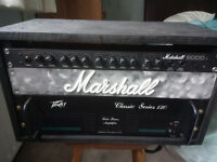 Marshall/Peavey monster guitar amp rig