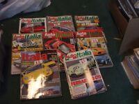 AUTO ITALIA MAGAZINE 60 ISSUES