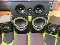 Speakers Mission M32i & M30 Bookshelf Speakers for sale