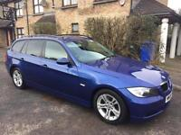 2008 BMW 320D BLACK LEATHER MANUAL 6 SPEED 4200