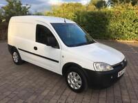 2007 Vauxhall Combo 1.3 CDTi 16v 1700 VAN, FULL SERVICE HISTORY, 2 KEYS, +VAT (Vivaro Astra)