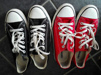 2 x canvas converse size 6 £10 for both pairs great condition