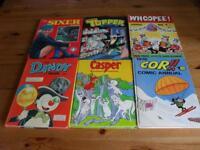 11 comic book annuals 1974-78