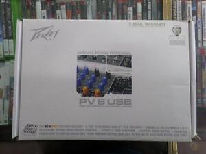 Peavey PV6 USB Mixer