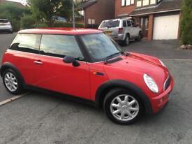 Mini one red