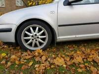 Wheels with tyres for MK4 17