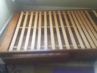 Single Bed with storage (Wooden)