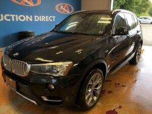 2015 BMW X3 xDrive28i X-LINE/ AWD/ HEATED LEATHER/ POWER LIFT...