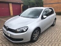 VW Golf 1.6 TDI DSG Automatic Full VW Service History Good Condition 2010