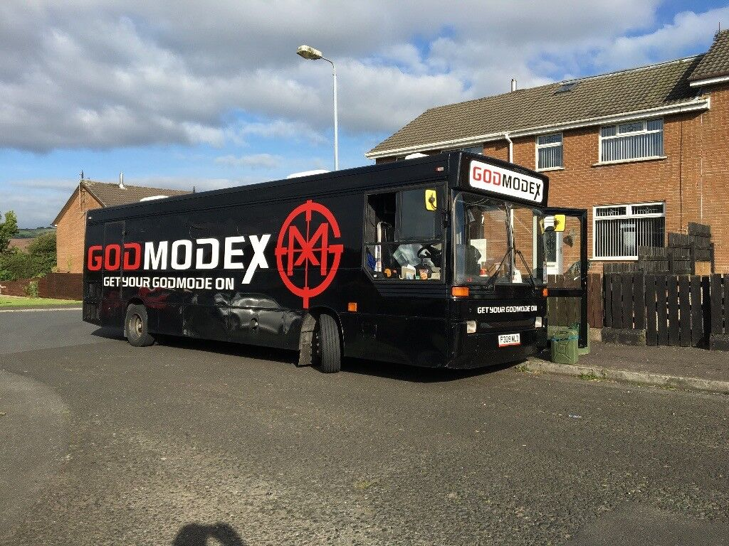 Video Game Party Bus For Hire