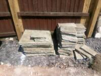 Indian sandstone patio pack slabs