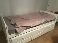Single bed with oull out bed and 2 matresses SORRY GONE pending collection