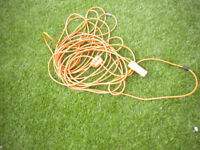 12 metre mains cable