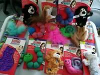 Kong cat toys job lot