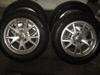 vauxhall insignia alloy wheels offset 5x120 with tyres