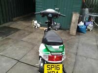 June 2016 Boation BT49QT-9R. Scooter (82 miles from new)