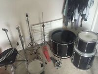 Drum kit and stands