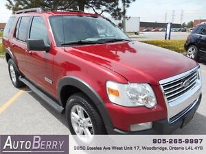 2007 Ford Explorer XLT 4WD *** Certified and E-Tested *** $7,999