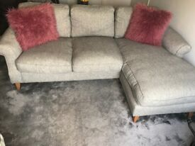 Dfs Maxi Hart Montagu Stag Patchwork 3 Seater Sofa And Two Armchairs