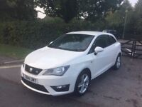 2014 PLATE SEAT IBIZA FR 1.2 TSI WHITE CAT D 4,000 GENUINE MILES ON THE CLOCK EXCELLENT CONDITION