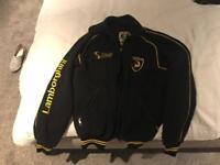 Boys Lamborghini fleece jacket