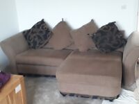 Free DFS corner sofa