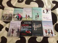 9 paperback books