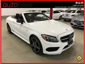 2018 Mercedes-Benz C-Class C43 AMG 4MATIC  PREMIUM INTELLIGENT D