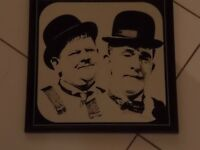 Laurel and Hardy Mirror