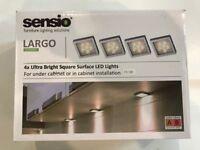 Sensio Largo Ultra Bright Square Surface LED Lights