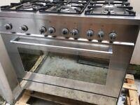Delonghi 6 Burner Gas Cooker